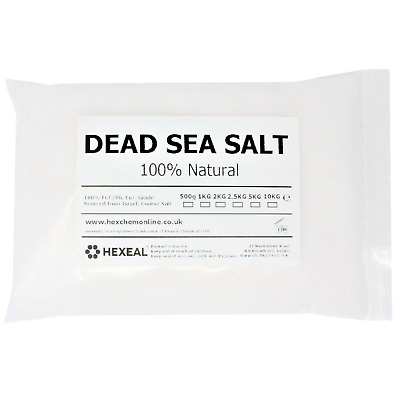 DEAD SEA SALT | 2KG BAG | 100% Natural | FCC Food Grade