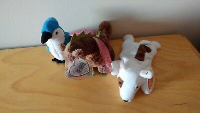 Lot of 3 Retired Beanie Babies