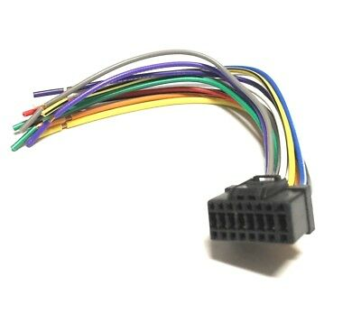 NEW 16 PIN AUTO STEREO WIRE HARNESS PLUG for PIONEER DEH ... Pioneer Replacement Wiring Harness on
