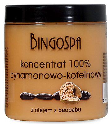 BingoSpa Cinnamon and Caffeine Slimming Concentrate with Baobab Oil 250g