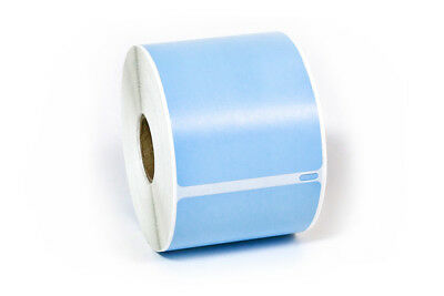 6 Rolls, 300 Labels per Roll DYMO-Compatible 30256 LIGHT BLUE Shipping Labels