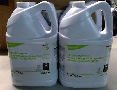 Diversey Carpet Shampoo, 1gal Bottle, 4/carton 95002689*