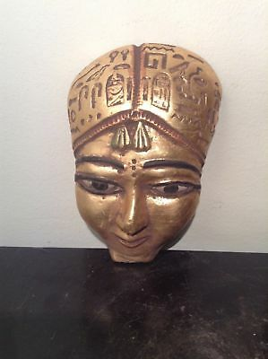Rare Antique Ancient Egyptian Queen Tiye Mask Greet Royal Queen1386–1349BC