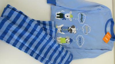 Gymboree Gymmies Pajamas Sleepwear Youth Boys 2pc Set Size 7 8 10 NEW