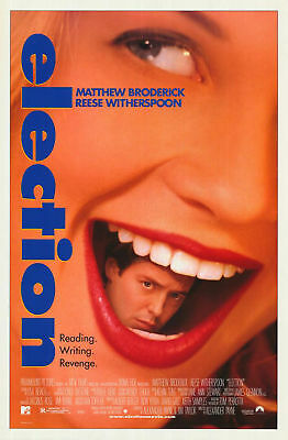 ELECTION MOVIE POSTER 2 Sided ORIGINAL ROLLED 27x41 REESE WITHERSPOON