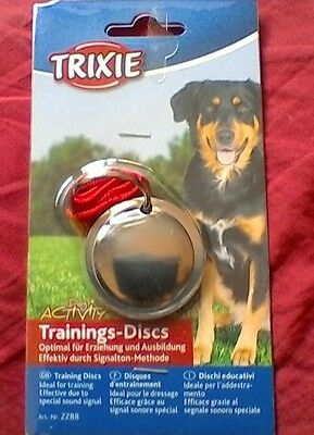 Trixie Dog Training Discs Train Through Sound Obedience Training With Booklet
