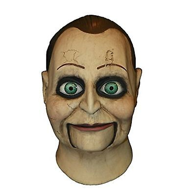 Trick or Treat Studios Dead Silence Billy Puppet Latex Adult Mask Saw Licensed