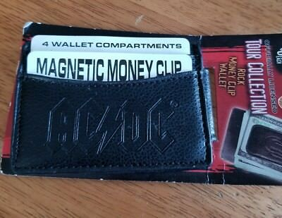 AC DC Magnetic Money Clip / 4 Wallet Compartments...New