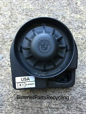 BMW E53 E46 Alternative Power Siren Alarm OEM 325CI 330CI 330I 525I 530I 540I X5