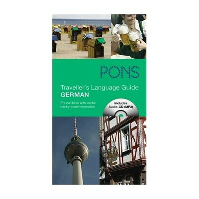 NEU: PONS Traveller's Language Guide German Phrase-book with useful background i