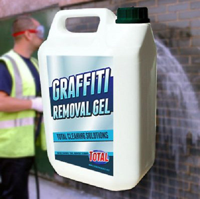 Graffiti Removal Gel Blend Of Solvents & Viscosity Modifying Chemicals Cleaner