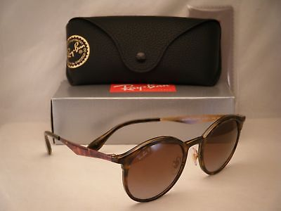 Ray Ban 4277 Emma Light Havana w Brown Gradient Polar Lens (RB4277 710/T5)
