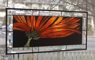 **SPRING IS ALMOST HERE** Stained Glass Window Panel (Signed and dated)