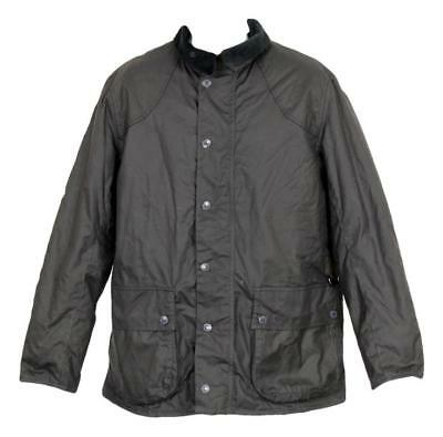 NEW Barbour Digby Waxed Cotton Winter Coat Mens Jacket Black Xl