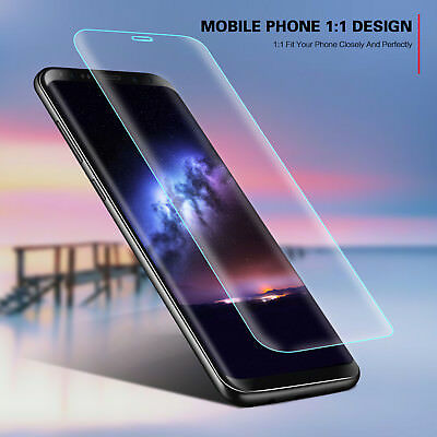 100% Genuine HD Tempered Glass Screen protector protection For Samsung Galaxy S9