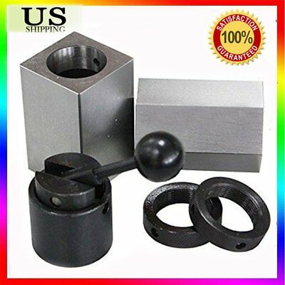 5Pcs 5C-CB Collet Block - Hex Collet Block, Square Collet Block and Collet Set A