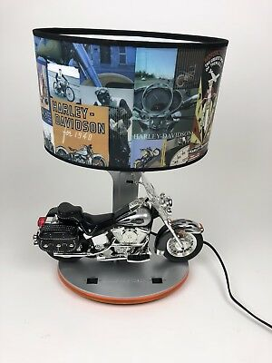 Harley Davidson Table Lamp With Night Light U0026 Sound