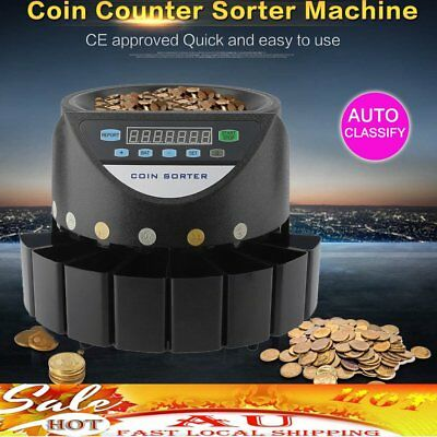 Australian Coin Sorter Display Digital Automatic Electronic Counter Machine ST