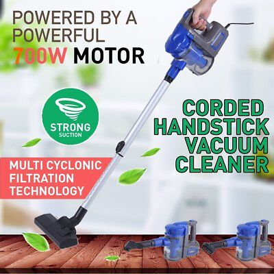 Vacuum Cleaner 2 in 1 HandHeld Upright Corded Bagless Stick Lightweight Hoover H