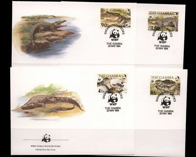 Gambia, MiNr. 517-520, FDC - 692017