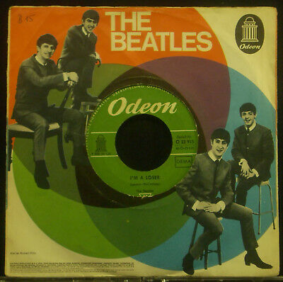 """7 """" The Beatles - ROCK AND ROLL MUSIC / I'm A LOOSER"""