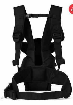 Mothercare 3 way carrier / Porte bébé noir de marque Mothercare 3 positions