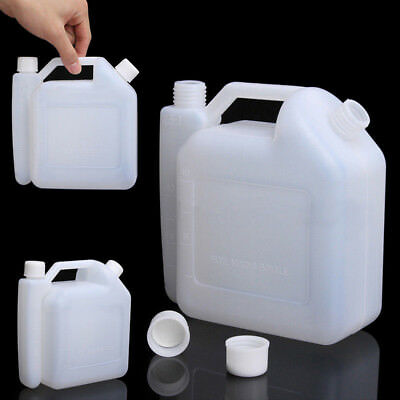 Convenient 1.5l 2-stroke Oil Petrol Fuel Mixing Bottle Tank For Trimmer Chainsaw