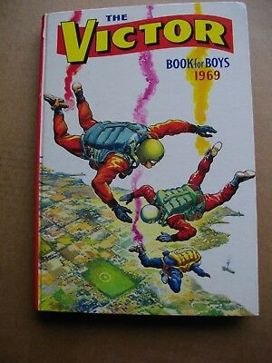 Victor Book For Boys Annual 1969 In Great Condition D C Thompson Uncliped
