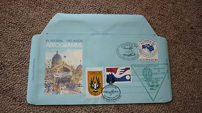 Old Hot Air Balloon Flight Cover, 1986 Stampex Aerophilately Day Ausipex