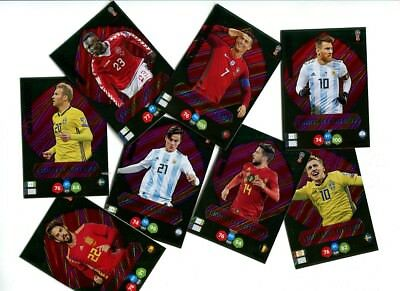 Panini Adrenalyn Xl World Cup Russia 2018 Wm Limited + Xxl Ronaldo Sisto Isco