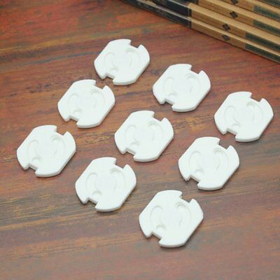 10Pcs/Pack Power Electric Outlet Cover Baby Kids Protectors Anti Electric Shock