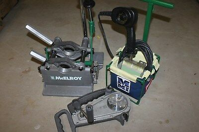"McElroy 2"" 2LC Pitbull PE Poly Pipe Weld Butt Socket Fusion Machine"