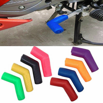 Black 1*Rubber Shifter Sock Boot Shoe Protector Shift Cover Motorcycle Dirtbike