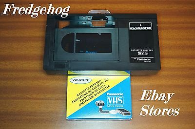 New Panasonic Vhs-C / Svhs-C Adapter - Play Your Camcorder Tapes In Your Video