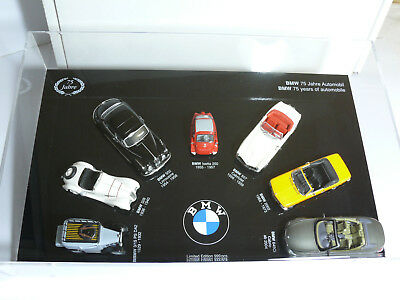 Minichamps Display Cabinet BMW 75 Years Automobile Diorama - 1:43 Limited