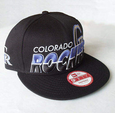 Colorado Rockies Officially Licenced MLB New Era Youth 9FIFTY Cap 6 7/8 - 7 1/2