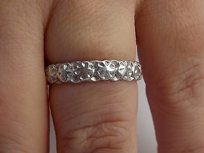 Victorian ? Silver Floral Ring Metal Detecting Find