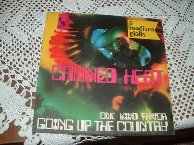 "Canned Heat "" Going Up The Country ""  Solo Copertina Only Cover Italy'6?"