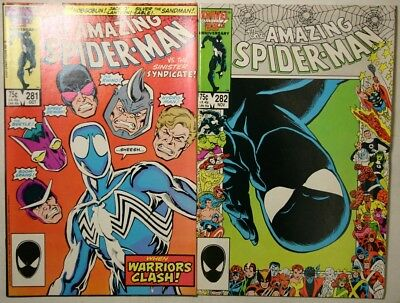 Amazing Spider-Man #281 - #282 - 1986 - Nm