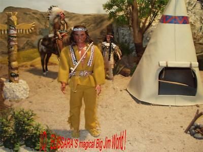 Big Jim Karl May - WINNETOU in special outfit 3a - Apache Chief  Lone Wolf