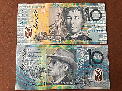 1x $10 AUSTRALIA CURRENCY (REAL MONEY FOR YOUR TRAVEL AND TO SPEND)