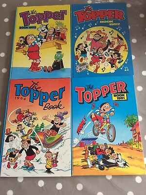 THE TOPPER BOOK ANNUAL 1991 92 93 94 - Free Post