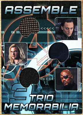 2012 Upper Deck Avengers Assemble Costume Card AT-8 - Loki Thor Nick Fury