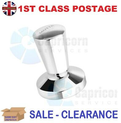 Motta 1361 Tamper Easy Polished Aluminium Coffee Tamper 58Mm Flat Base