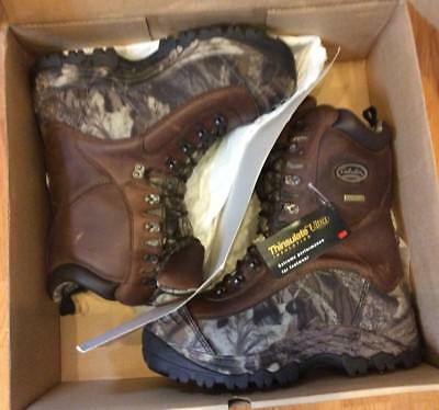 e04b6c99a21 CABELAS PREDATOR EXTREME Pac Boots Camo/Brown Thinsulate Ultra Insulated  Size 10