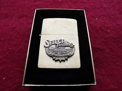 Vintage 1994 Zippo Winston Select Rjr Lighter W/box Sealed Unused.nos