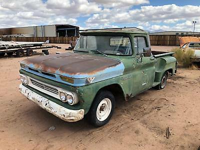 1960 Chevrolet Apache  1960 Chevrolet Apache 1/2 Ton Step Side Pick-Up Truck - Project Truck