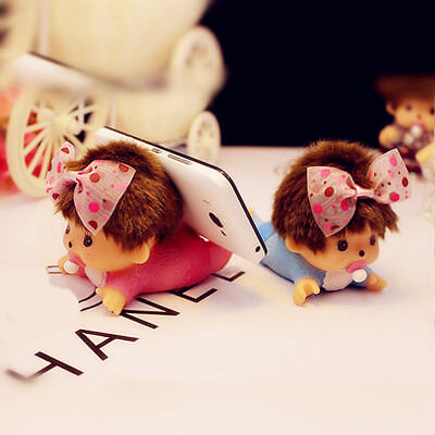 Bebichhichi Monchhichi Baby Plush BBCC Dolls Cell Phone Holder Boy Girl Gift 1pc