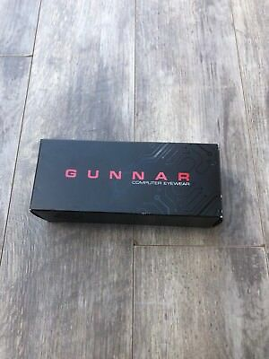 65803123d66 NEW GUNNAR RPG Designed By Razer Onyx Frame Gaming Glasses w  Amber ...