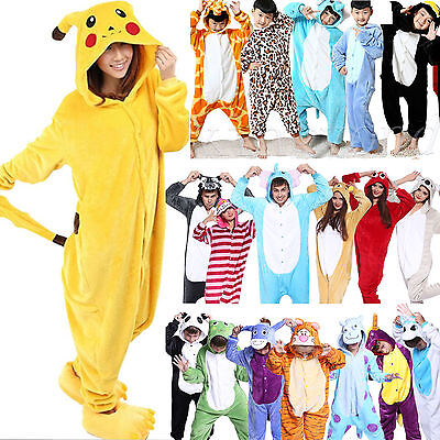 Animal Kids Adult Kigurumi Onesie1 Cosplay Costume Pyjamas Pajamas Sleepwear